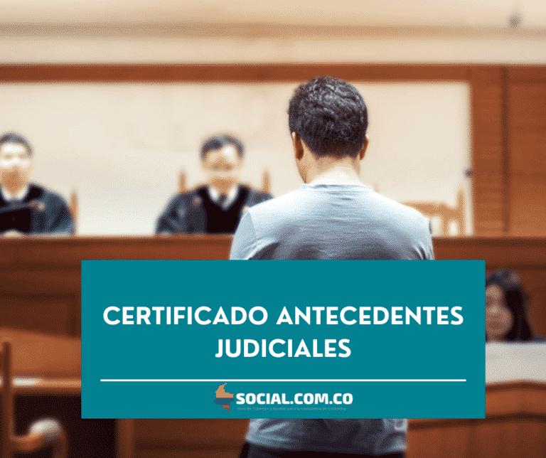 certificado antecedentes judiciales