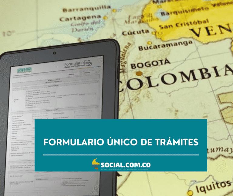 FORMULARIO ÚNICO DE TRÁMITES FUT