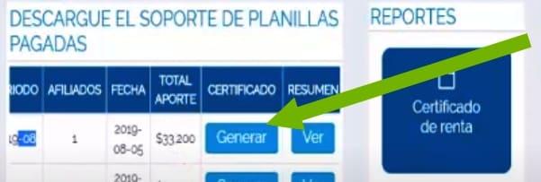 descargar certificado pago planilla asopagos