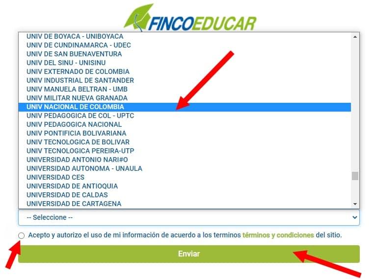 Fincomercio Crédito Educativo ≫ Colombia Social 2021