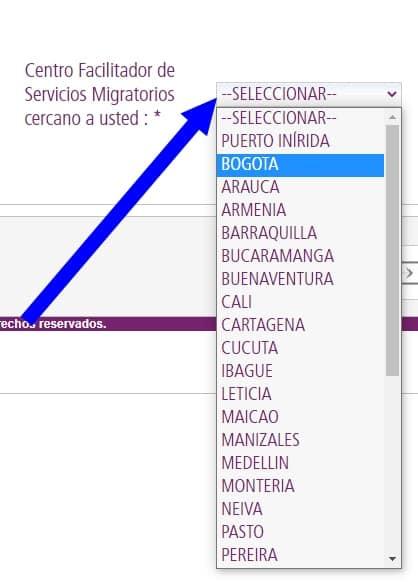 centro facilitador de servicios migratorios