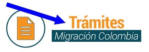 trámites migración colombia
