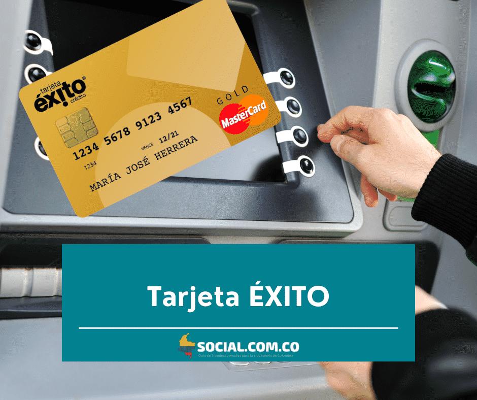 Solicitar Tarjeta ÉXITO ≫ Colombia Social 2021