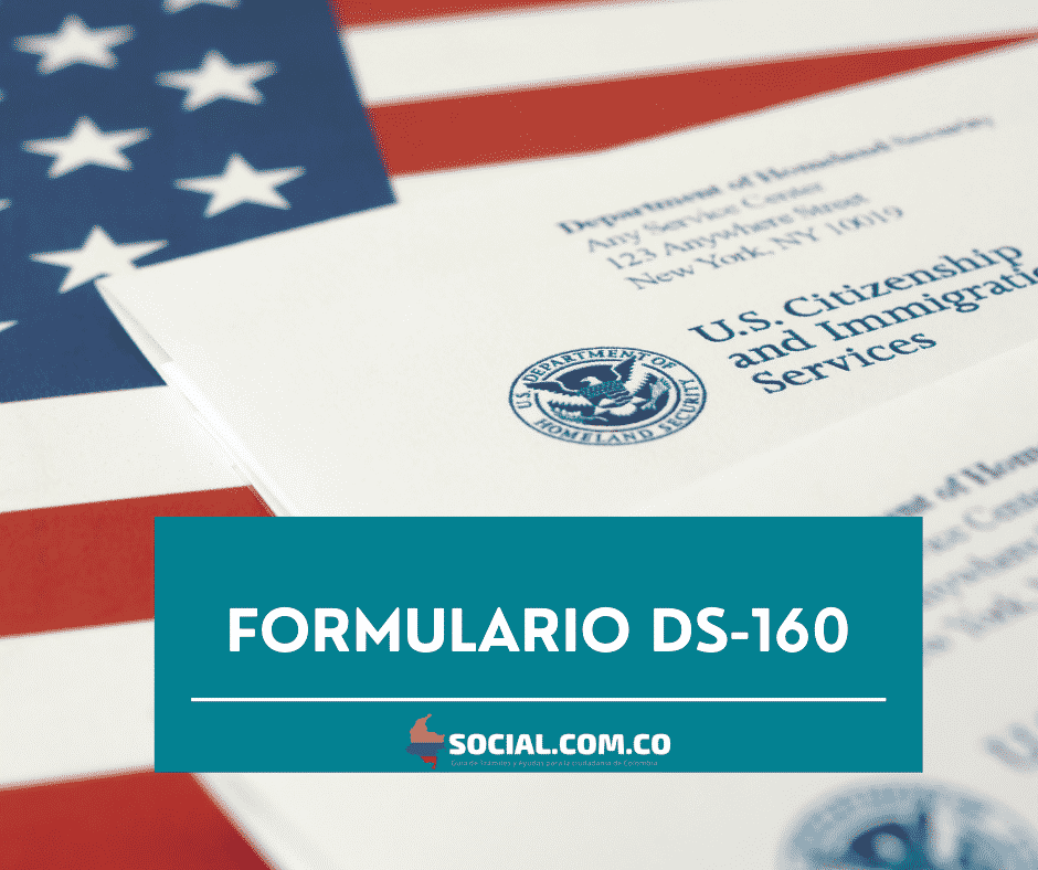 FORMULARIO DS-160 EN LÍNEA