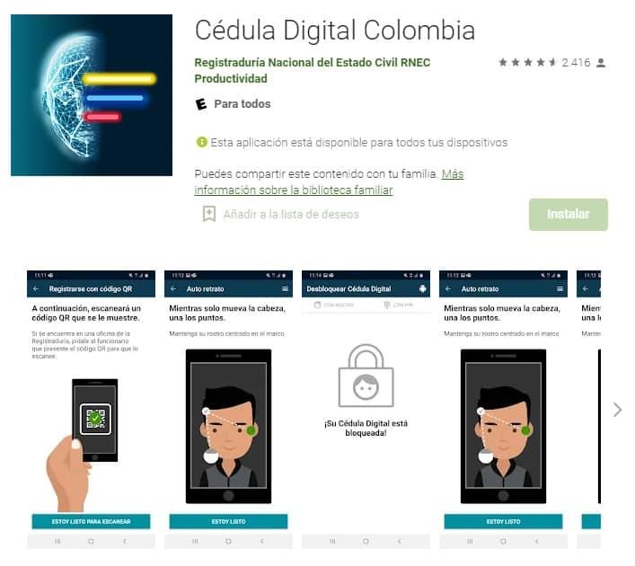 app cédula digital colombia