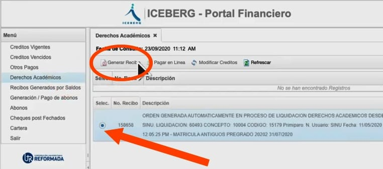 portal financiero unireformada