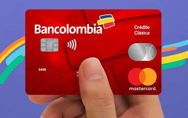 tarjeta bancolombia clásica