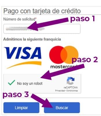 pagar apostillado con tarjeta de crédito